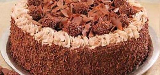 Receita de bolo de brigado