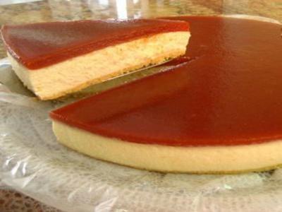 Cheesecake Romeu e Julieta de liquidificador