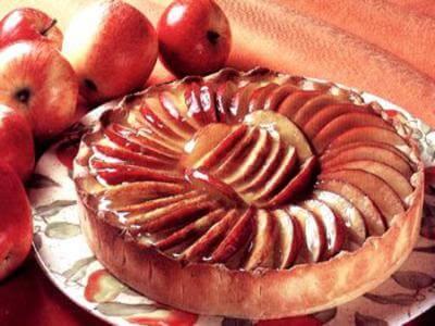 receita de torta de maça com canela
