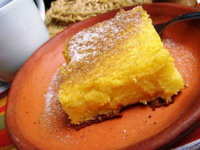 Receita de bolo cremoso de milho
