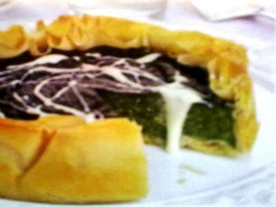 receita de torta de espinafre