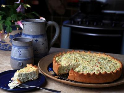 receita de torta de ricota