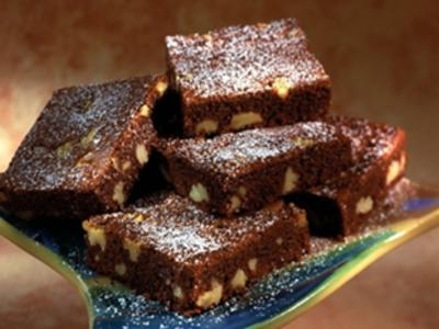 Brownie de chocolate light