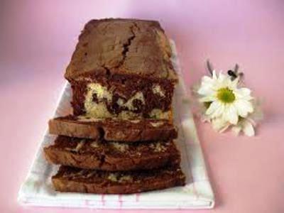 receita de bolo de mármore de chocolate e laranja