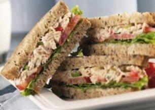Receita de sanduíche de atum light