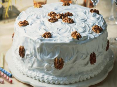Receita de bolo de nozes
