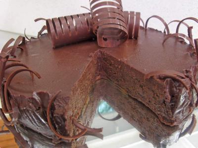 Musse de chocolate