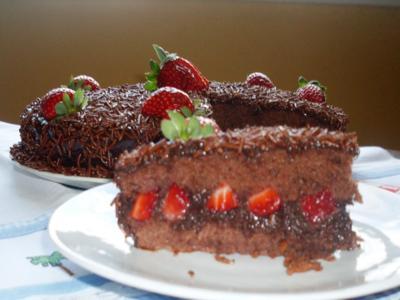 receita de bolo de brigadeiro