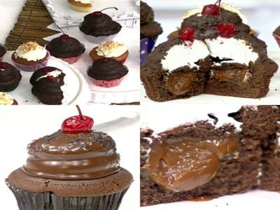 receita de cupcake midnight