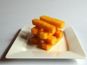 Receita de polenta frita