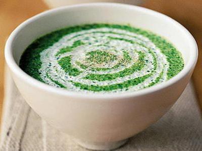 Receita de sopa verde