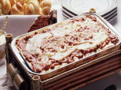 Receita de lasanha de ricota e manjeicão