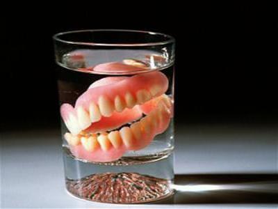 Problemas ao usar dentadura