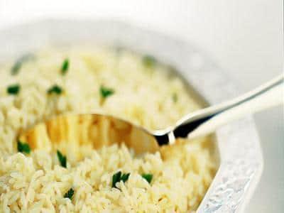 Receita de arroz ao vinho branco