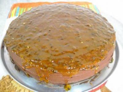 Receita de bolo em camadas