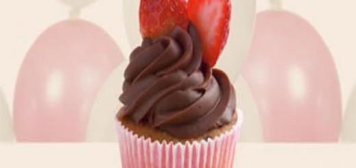 Receita de cupcake de frutas