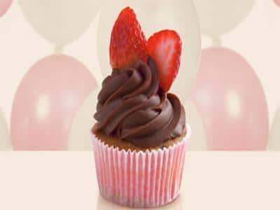 Cupcake de frutas