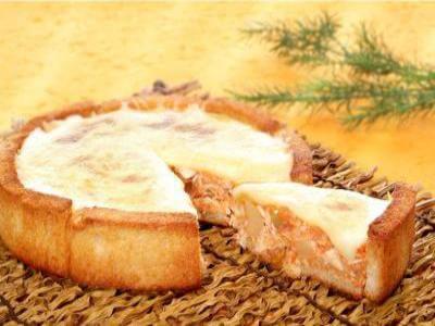 Receita de torta-creme de frango