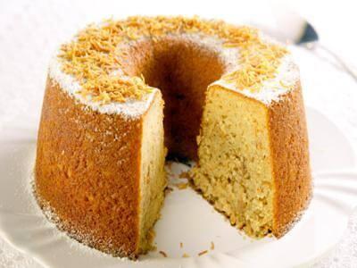 Receita de bolo de coco queimado