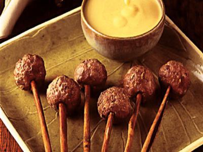 Receita de espetinho de carne com canela