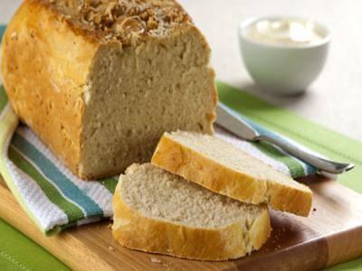 Receita de pão prático de alho e queijo