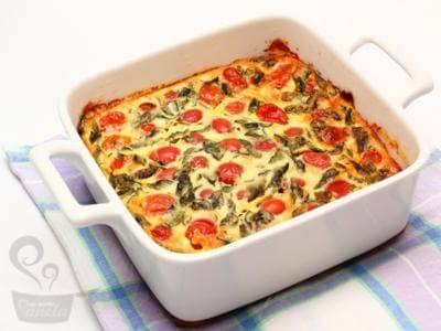 Torta de manjericão