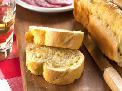 Receita de pão 3 queijos
