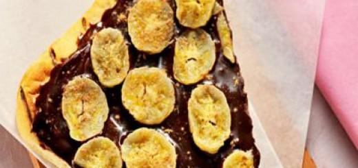 Pizza-de-chocolate-e-banana