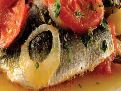 Receita de sardinha escabeche