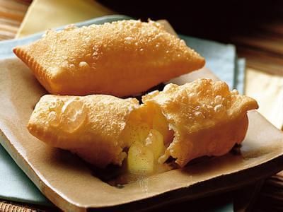Receita de torta frita de maça