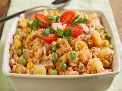 Receita de arroz de forno com legumes