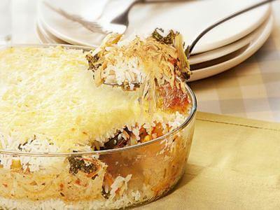 Receita de arroz de forno delícia