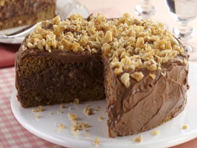 Receita de bolo de amendoim, café e chocolate