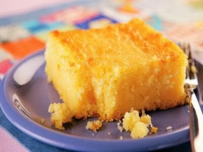 Receita de bolo de Milharina