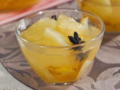 Receita de compota rápida de melão e pera