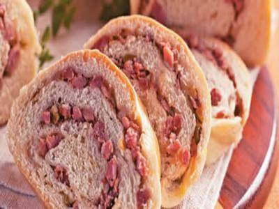 Receita de pão de calabresa