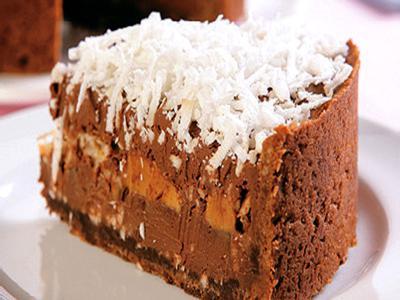Receita de torta cremosa de chocolate e doce de leite