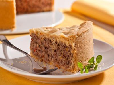 Receita de torta de carne moída e queijo