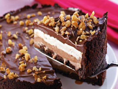 Receita de torta de sorvete com marshmallow