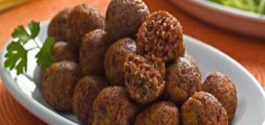 Almôndegas de abóbora e carne-seca