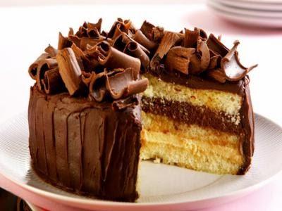 Receita de bolo-musse de maracujá e chocolate