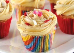 Receita de cupcake gourmet de cappuccino