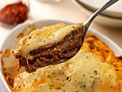 Receita de lagarto ao creme de queijo