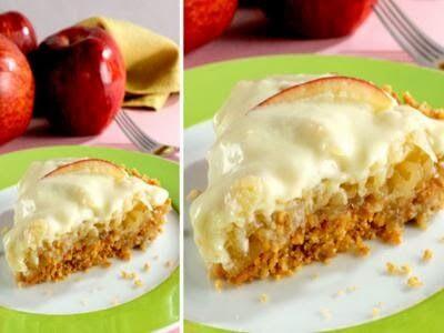 Receita de torta de maça maravilhosa