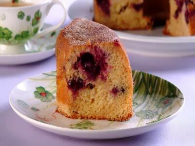 Receita de bolo fofinho de uva