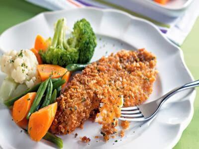 Filé de peixe crocante