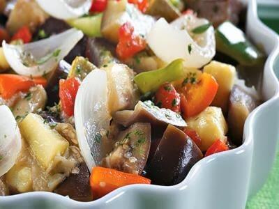 Receita de legumes condimentados