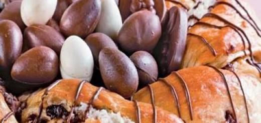 Receita de rosca de páscoa com chocolate