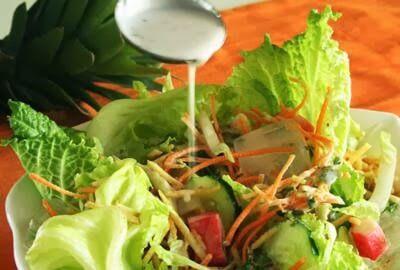 Receita de salada tropical