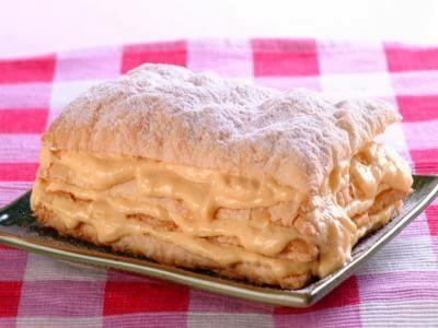 Receita de torta mil folhas de maracujá